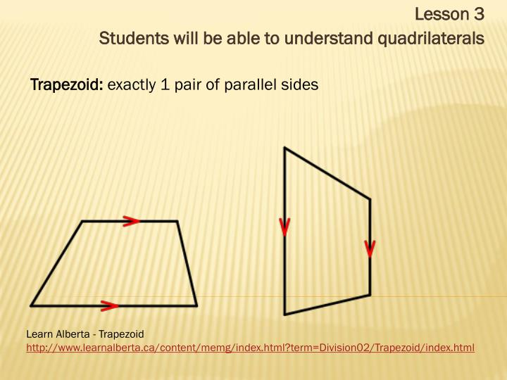Trapezoid: