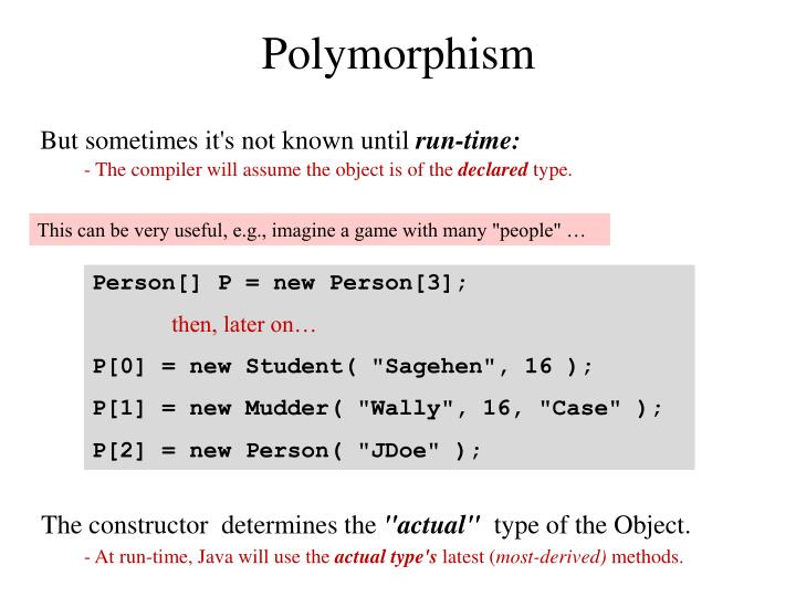 Polymorphism