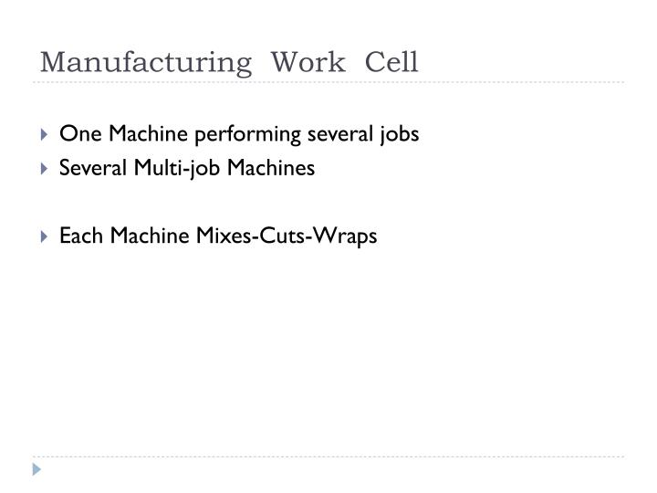 Manufacturing  Work  Cell