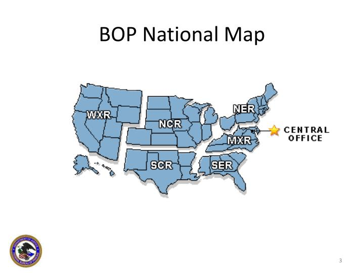 Bop national map