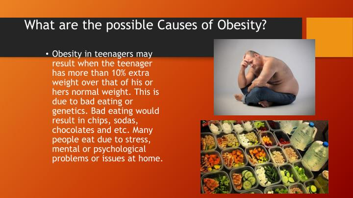 What are the possible Causes of Obesity?
