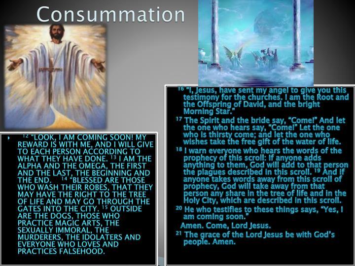 Consummation