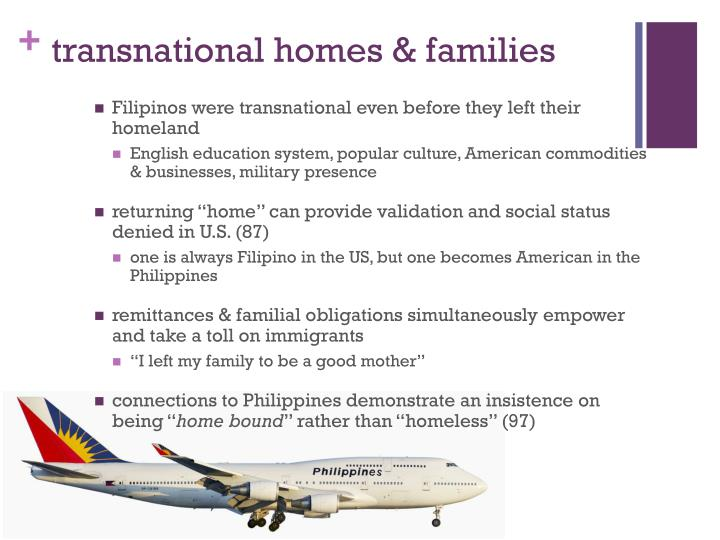 transnational homes & families