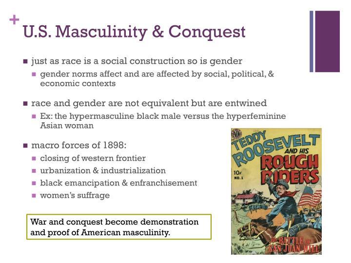 U.S. Masculinity & Conquest