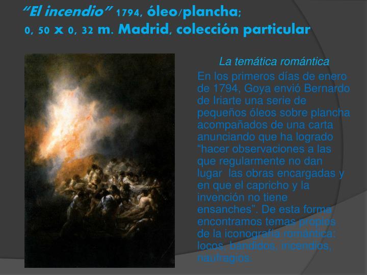 """""""El incendio"""""""
