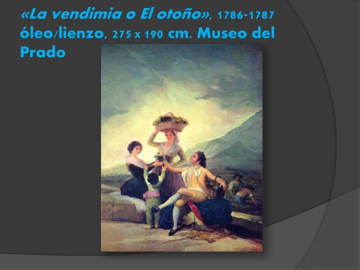 «La vendimia o El otoño»,