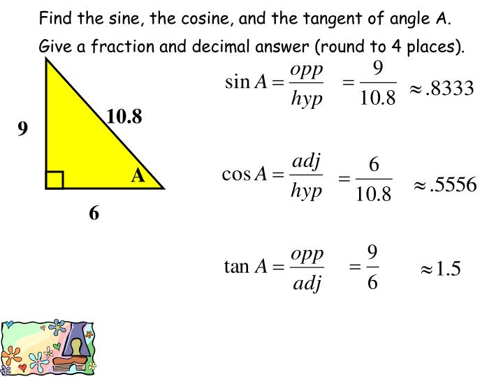 law of cosine how to find an angle
