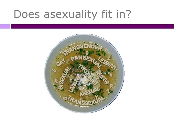 Does asexuality