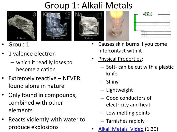 Are Alkali Metals Liquid At Room Temperature
