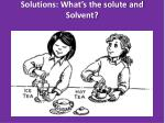solutions what s the solute and solvent5