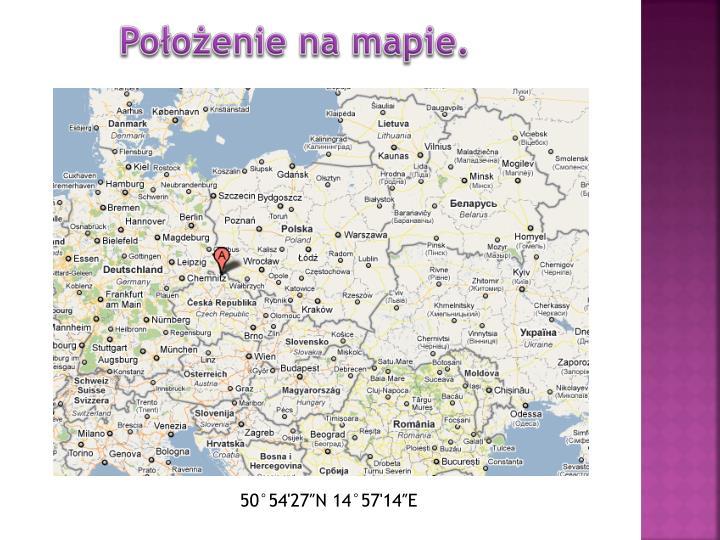 Położenie na mapie.