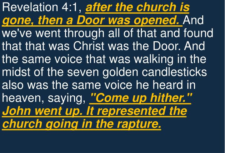 Revelation 4:1,