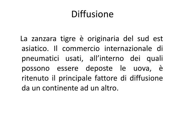 Diffusione