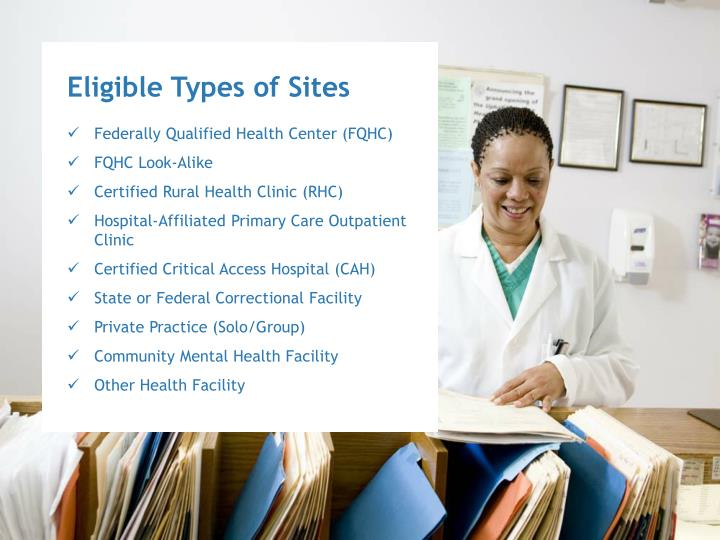 Eligible Types of Sites