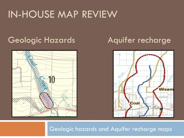 In-house map review