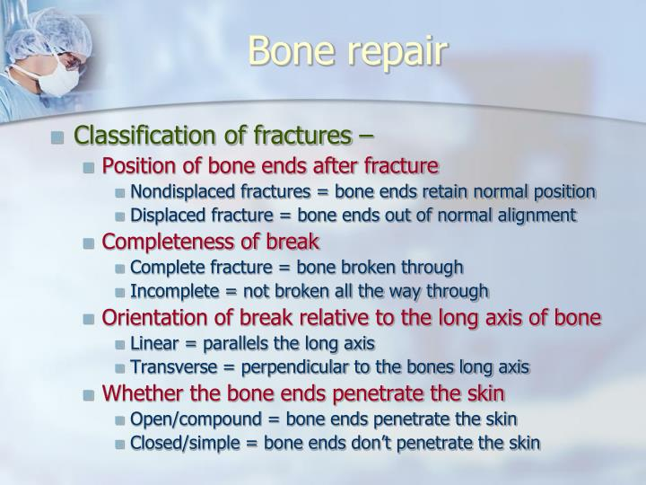 Bone repair