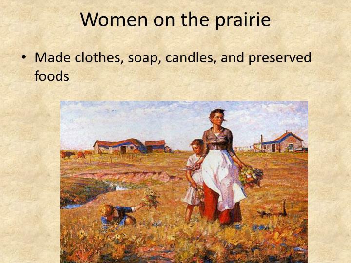Women on the prairie