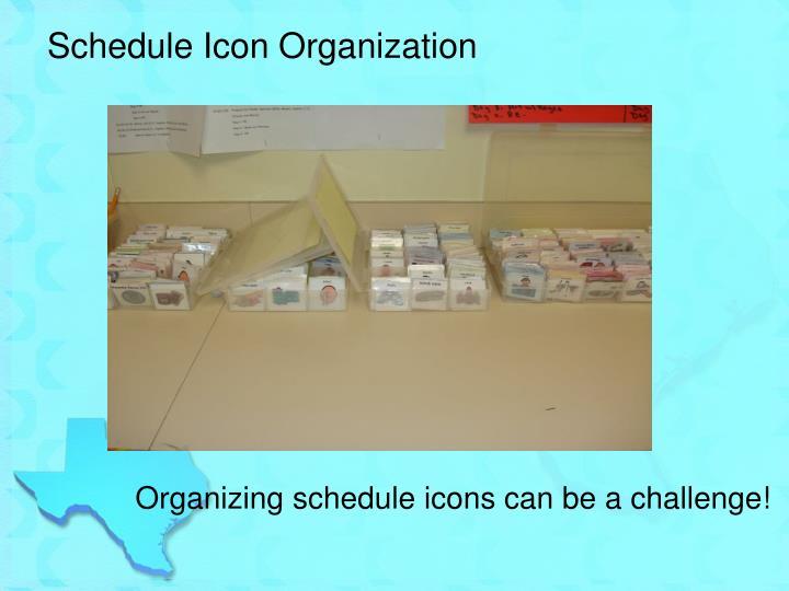 Schedule Icon Organization