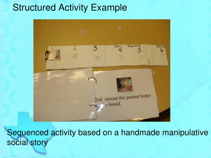 Structured Activity Example