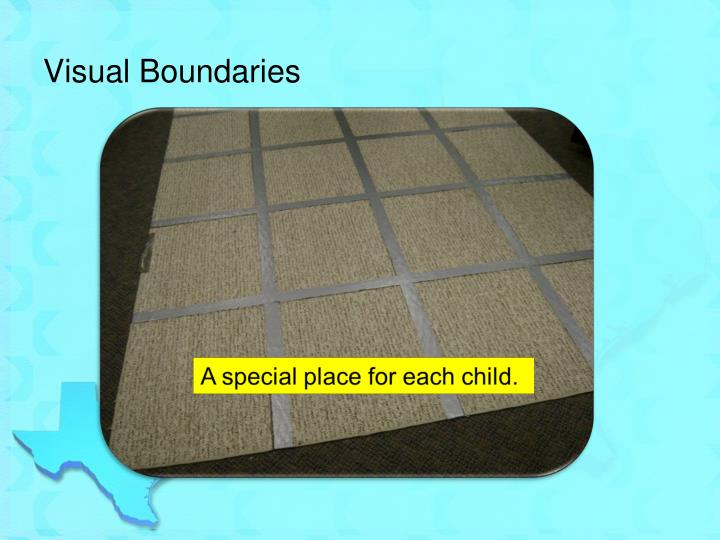 Visual Boundaries
