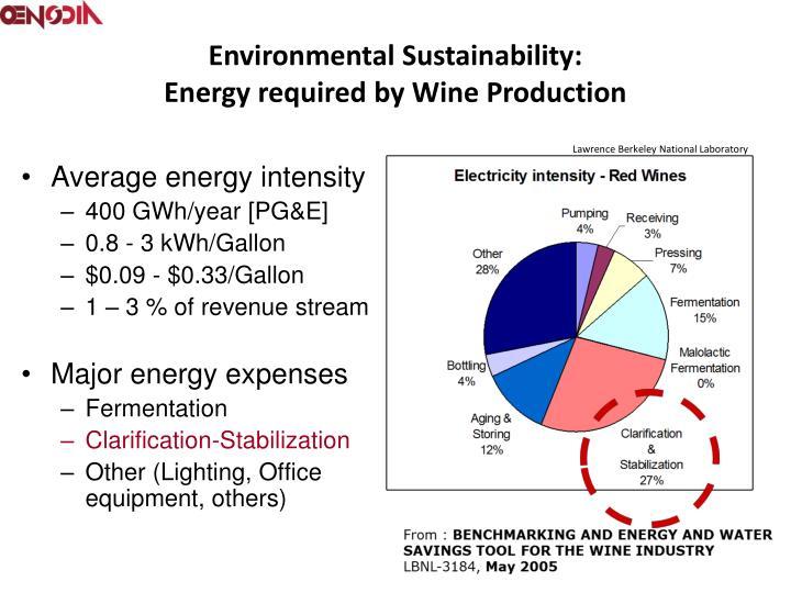 Environmental Sustainability: