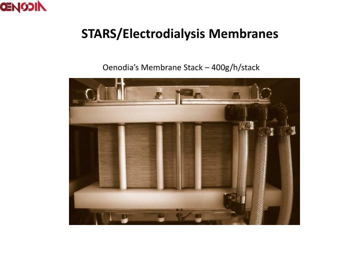 STARS/Electrodialysis Membranes