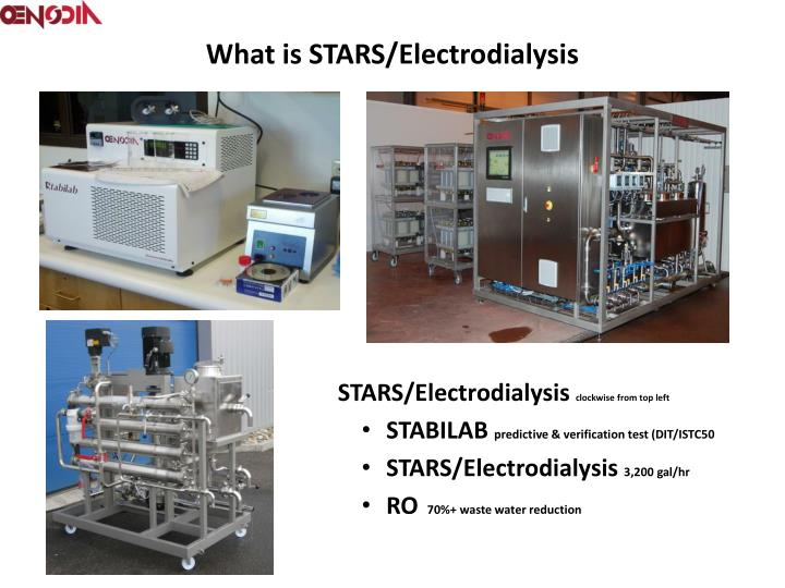 What is STARS/Electrodialysis