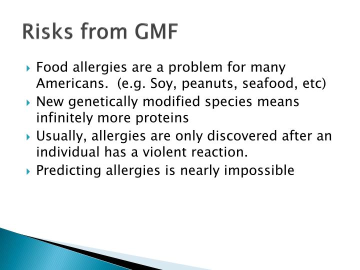Risks from GMF