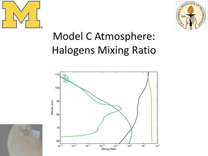 Model C Atmosphere: