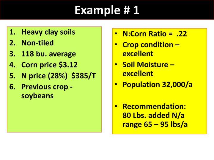 Heavy clay soils
