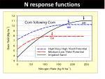 n response functions