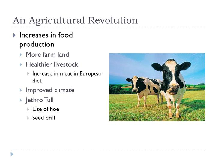 An Agricultural Revolution