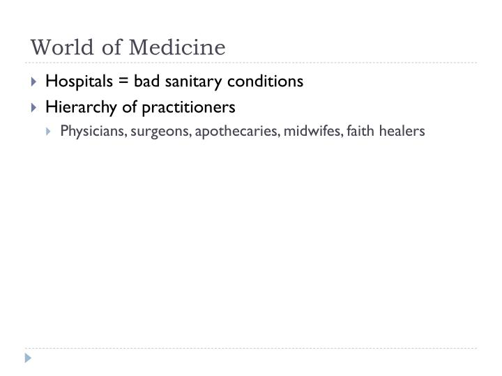 World of Medicine