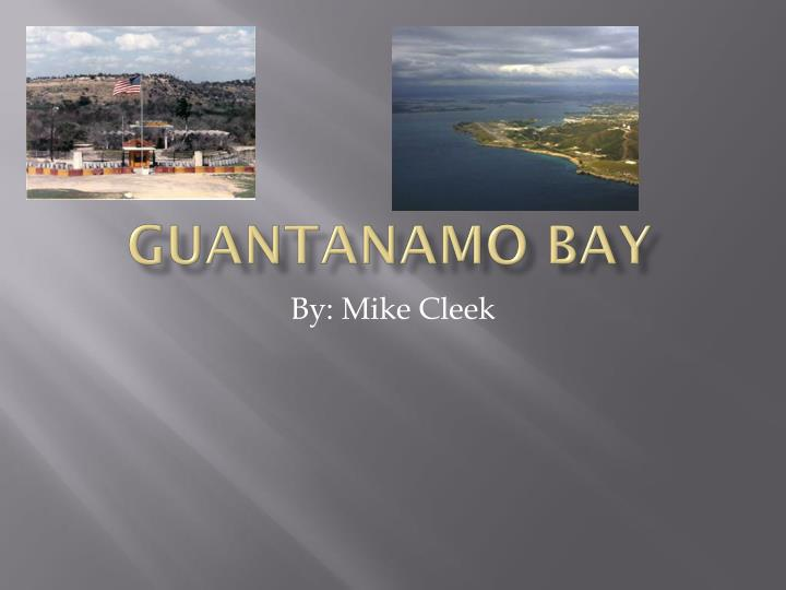 Guantanamo bay research paper