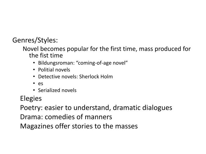 Genres/Styles: