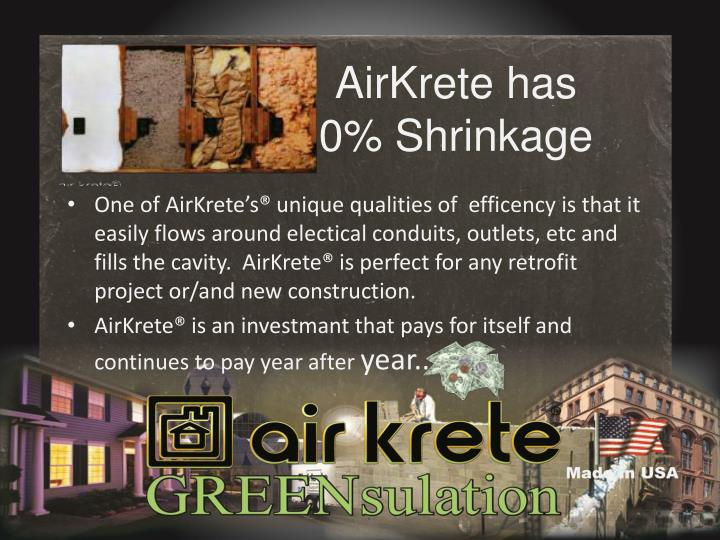 AirKrete has