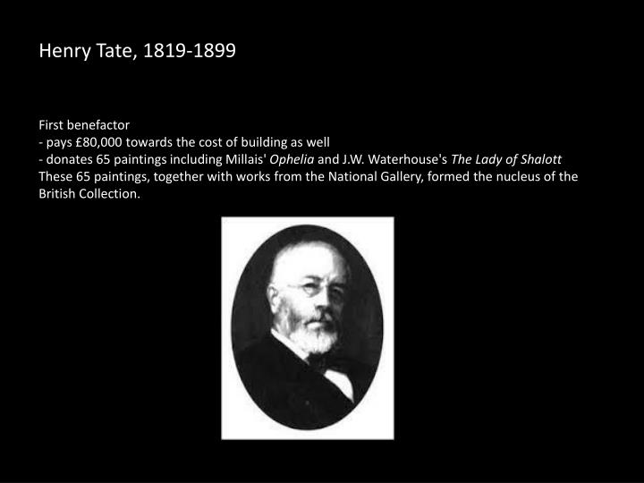 Henry tate 1819 1899
