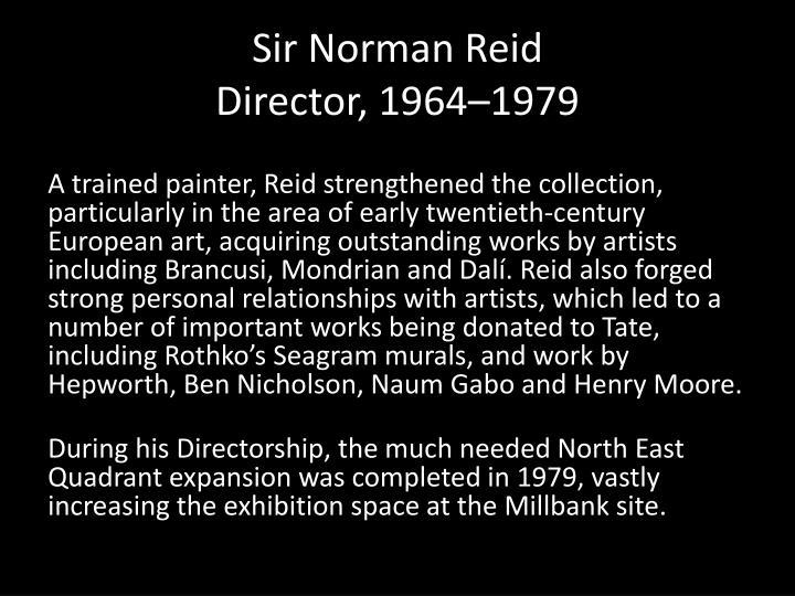 Sir Norman Reid