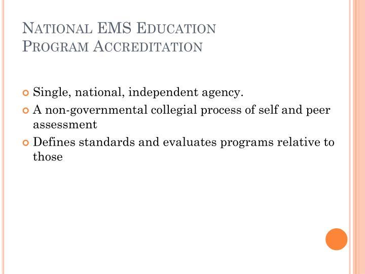 National EMS Education