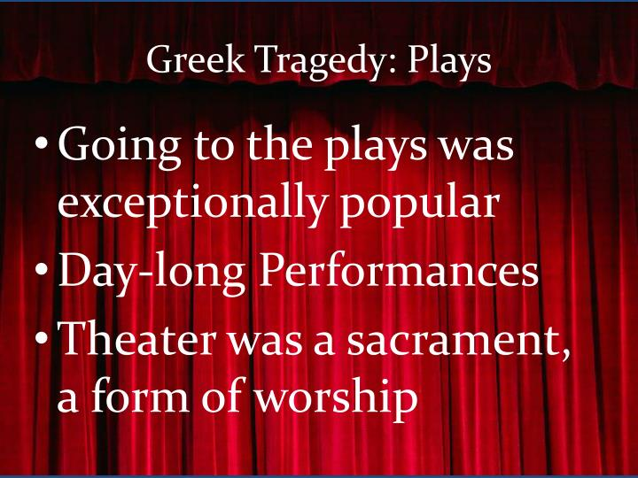 Greek Tragedy: Plays