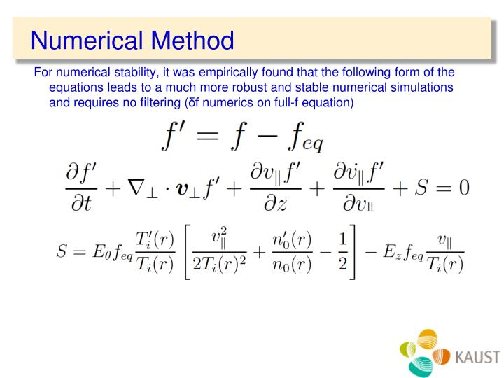 Numerical Method