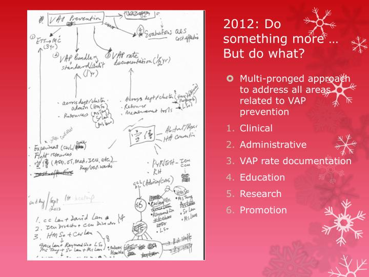 2012: Do something more …
