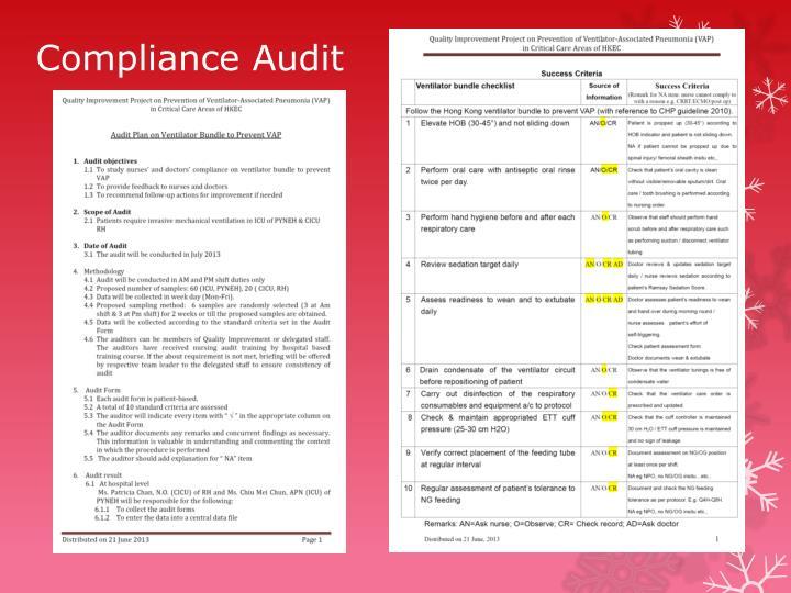 Compliance Audit