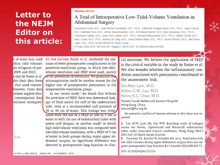 Letter to the NEJM Editor on this article: