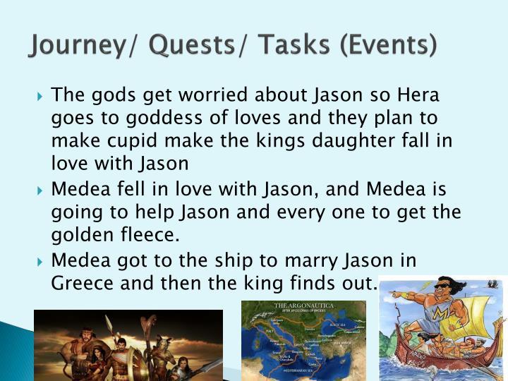 Journey/ Quests/ Tasks (Events)