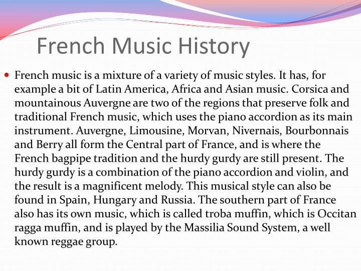 French music history