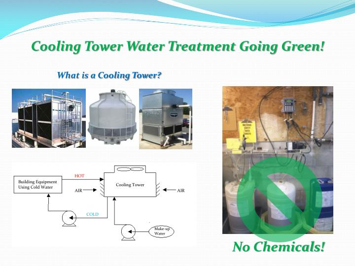 Cooling Tower Water Treatment Going Green!