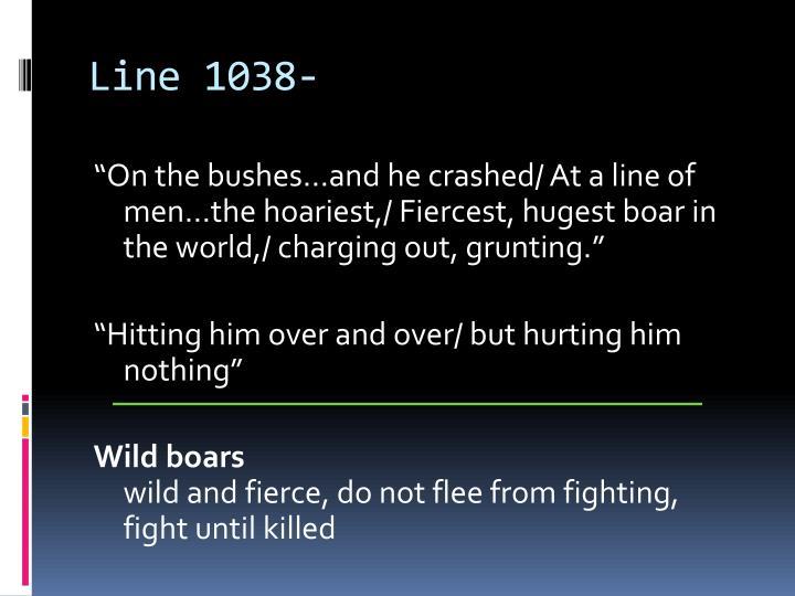 Line 1038-