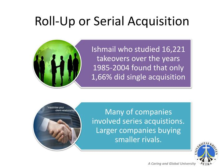 Roll-Up or Serial Acquisition