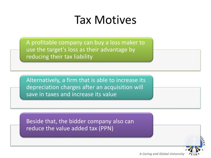 Tax Motives